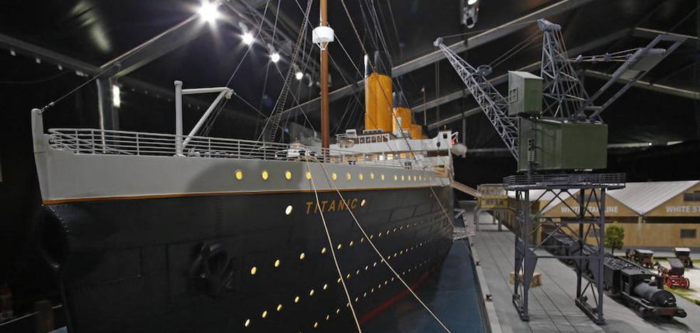 La exposición del Titanic en Gijón bate récords