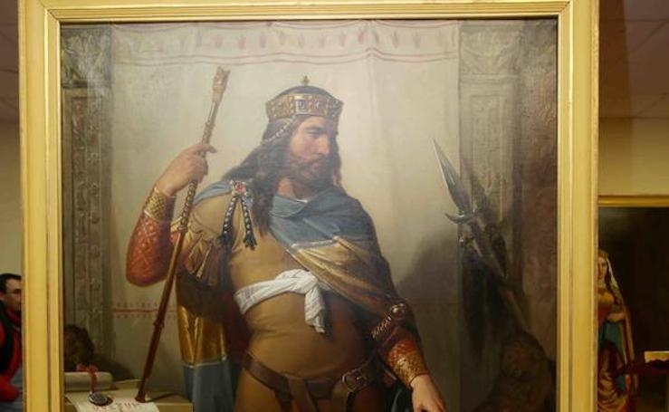 Los reyes asturianos se unen al Museo del Real Sitio