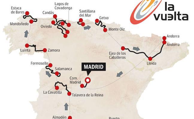 Asturias será juez de la Vuelta
