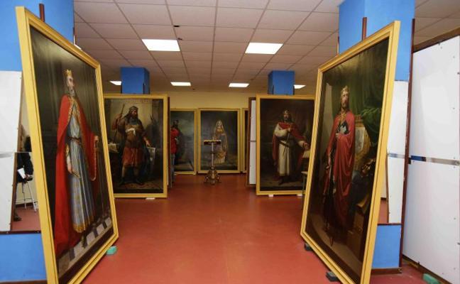 La monarquía renace en Covadonga