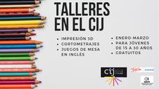 Conoce la oferta de talleres para este trimestre en el Centro de Iniciativas Juveniles de La Calzada