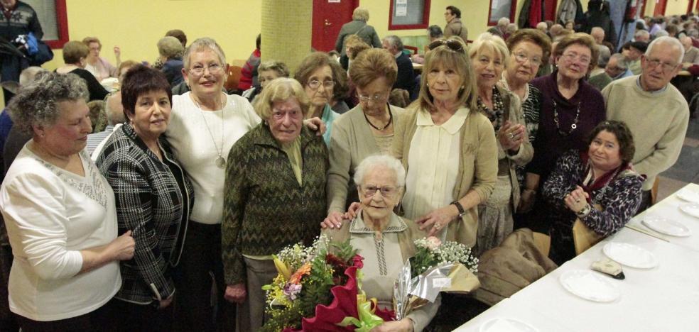 Fallece Adelina Vigil, una de las abuelas de Gijón, con 105 años