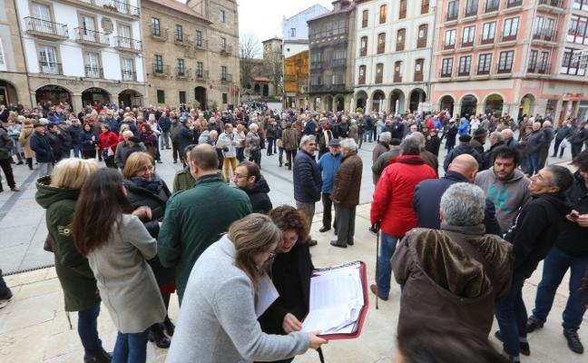 Jubilados asturianos se rebelan contra la «miserable» subida de la pensión