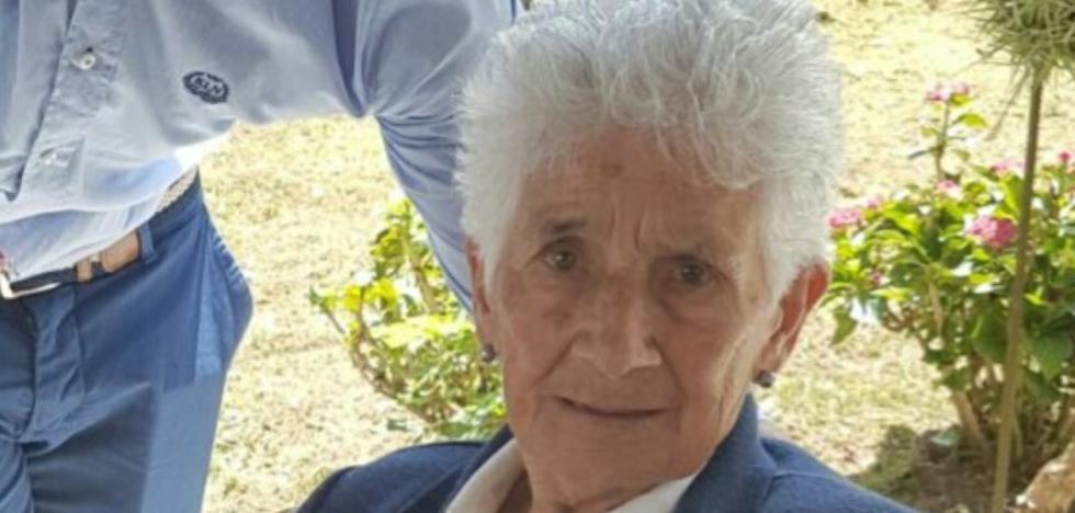 Fallece a los 93 años Amada Sánchez, la molinera de Vibaño