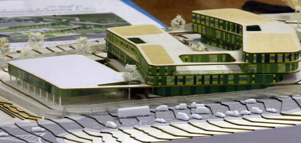 Doce empresas optan al contrato para diseñar el nuevo IES de La Corredoria