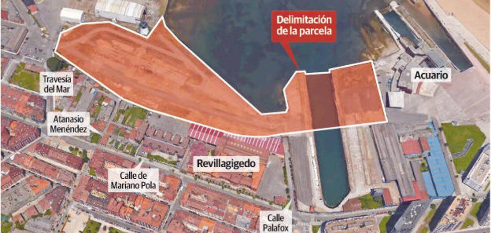 El Ayuntamiento de Gijón renuncia a pujar por el solar de Naval que subasta el Puerto