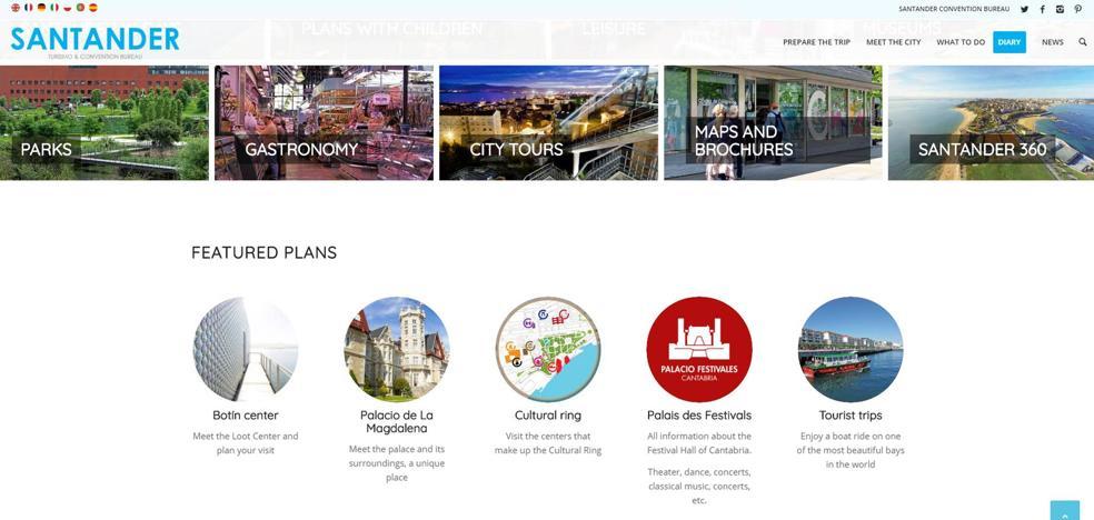 El traductor de Google se la juega al Ayuntamiento cántabro en su nueva web y el Centro Botín se convierte en 'Centro de Pillaje'