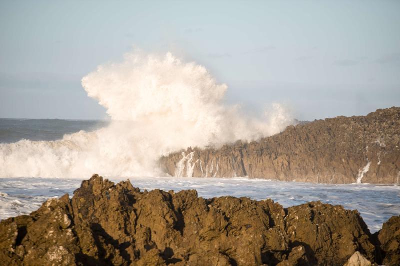 Asturias, en alerta por oleaje