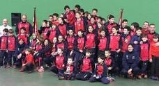 Los palistas del Grupo Covadonga se llevan la victoria por equipos en su trofeo