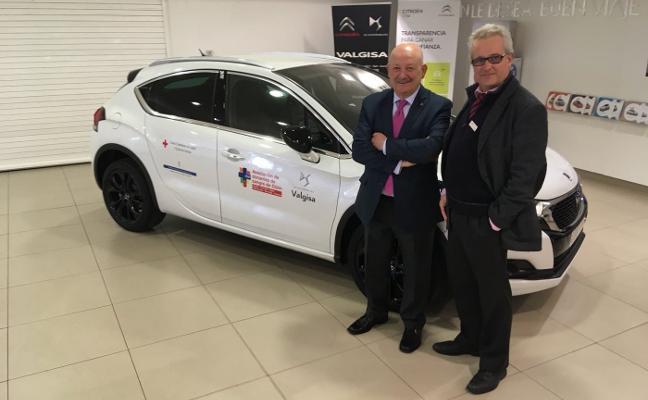 Valgisa cede un vehículo a la Asociación de Donantes de Sangre