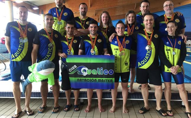 El Aquatico Solras, campeón de invierno de Castilla y León