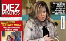 María José Campanario reaparece para apoyar a Jesulín