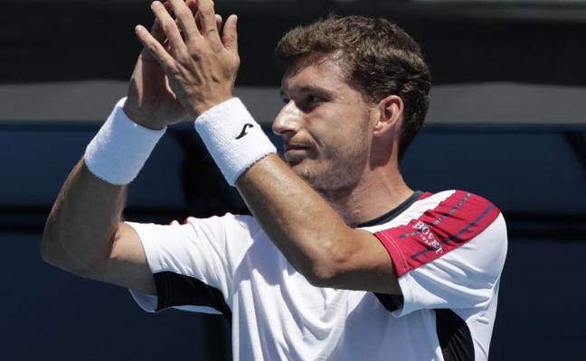 Pablo Carreño pasa a tercera ronda tras retirada de Simon en el segundo set