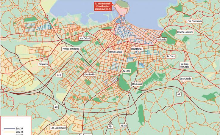 El Plan de Movilidad de Gijón