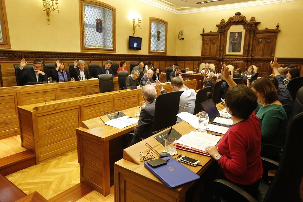 Pleno del Ayuntamiento de Gijón (17-01-2018)