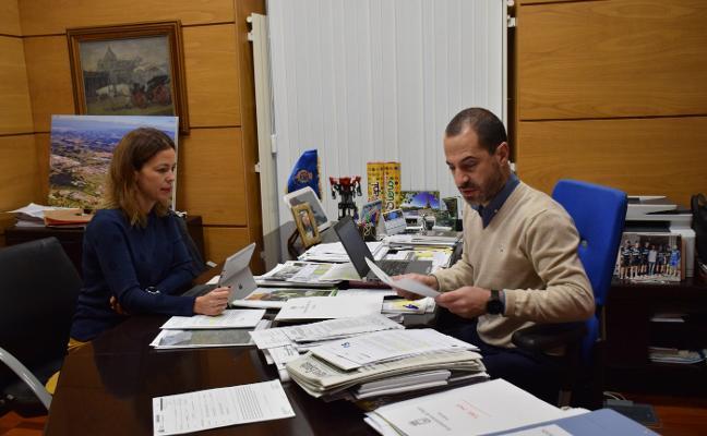 El alcalde reclama a Telefónica una mejora de la telefonía e internet en Siero