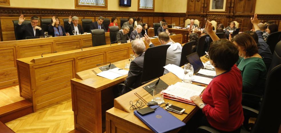 El Pleno de Gijón exige al equipo de gobierno que presente unos presupuestos en febrero