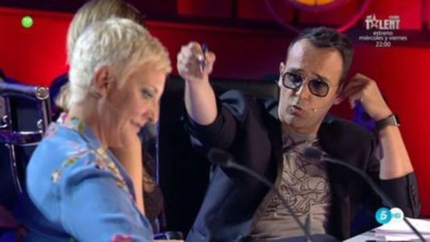 La gran bronca de Risto y Jorge Javier Váquez en 'Got Talent': «Esto es una payasada»