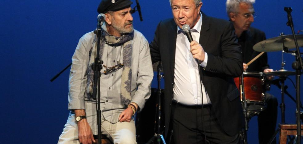 Chus Pedro y Pipo Prendes unen sus voces en una velada de mina y mar