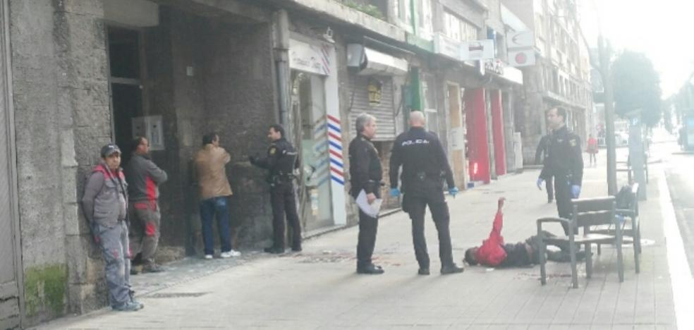 Los protagonistas de la trifulca en plena calle pasan a disposición judicial