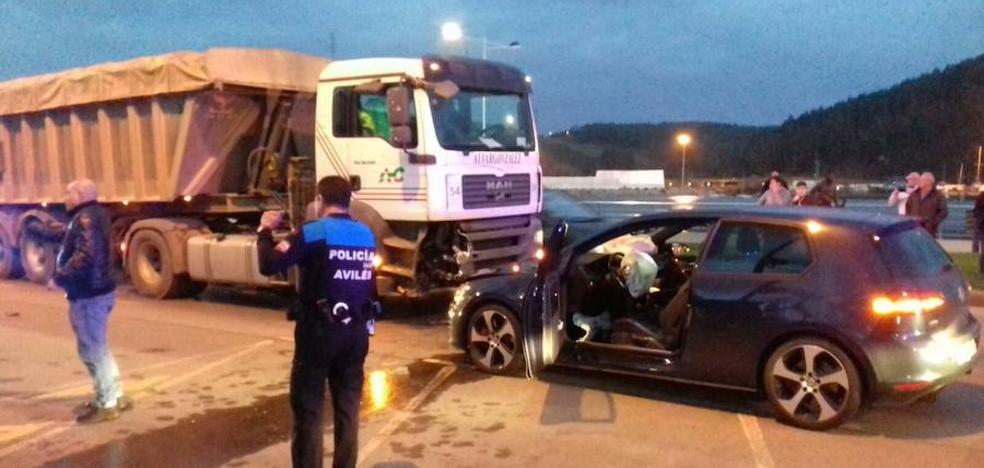 Retenciones en Conde de Guadalhorce por un accidente