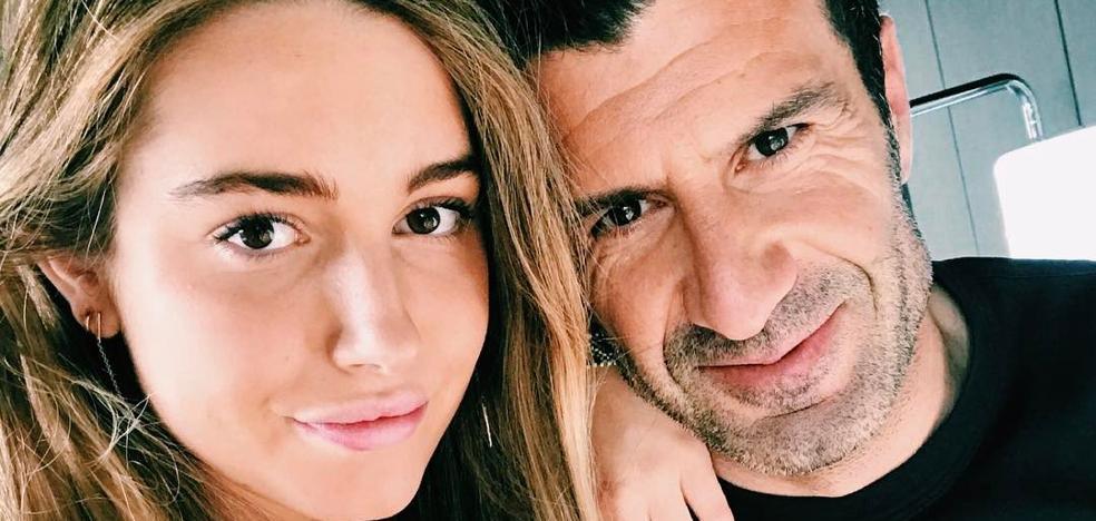 El falso escándalo sexual de Daniela, la hija de Luis Figo