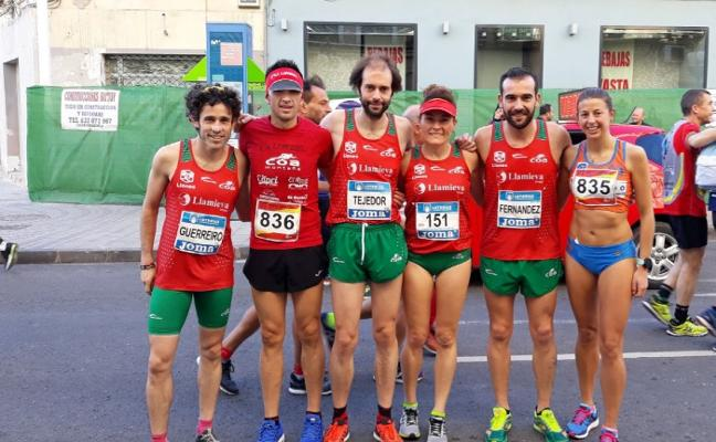 Buen papel avilesino en el Campeonato de España de media maratón