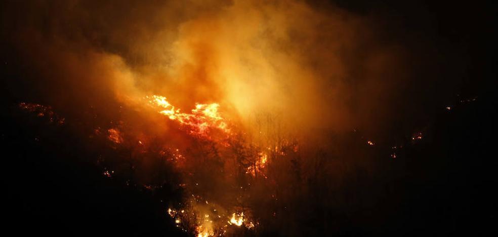Condenado a un año y medio de prisión por provocar un incendio forestal en Santo Adriano