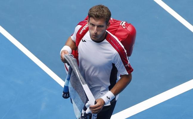 Pablo Carreño deja Melbourne y se centra ya en la Davis