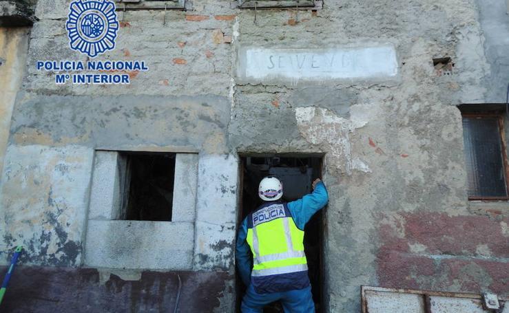 Así fue la excavación en Berbes (Ribadesella) para buscar a la gijonesa Mari Trini y su bebé