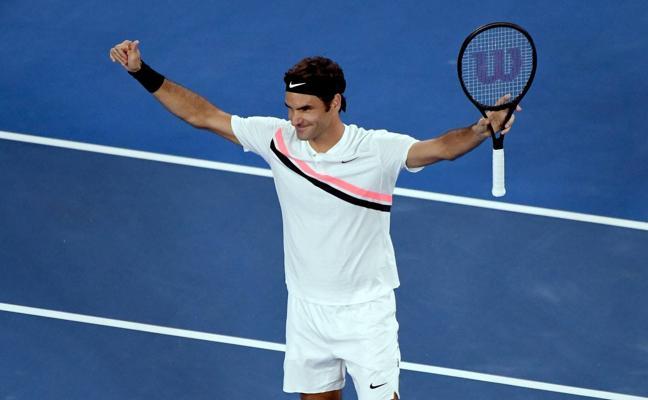 Federer despeja el camino al vigésimo Grand Slam