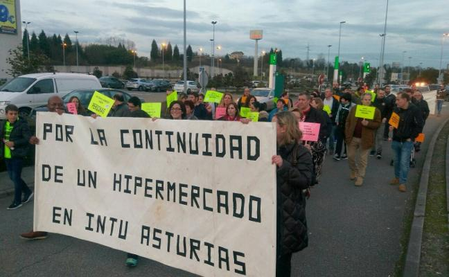 Nueva movilización de los trabajadores de Eroski