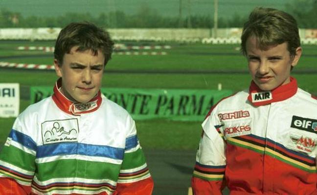 El reencuentro entre Fernando Alonso y Antonio García en Daytona 19 años después