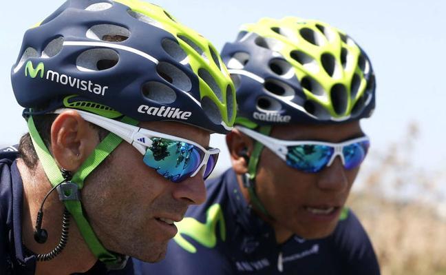 Valverde y Quintana correrán la Vuelta a Cataluña