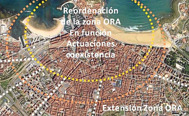 El Plan de Movilidad de Gijón prevé el salto de la zona azul a barrios limítrofes