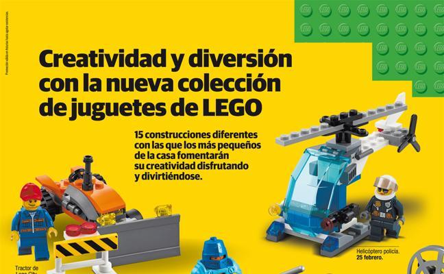 Nueva colección de juguetes Lego