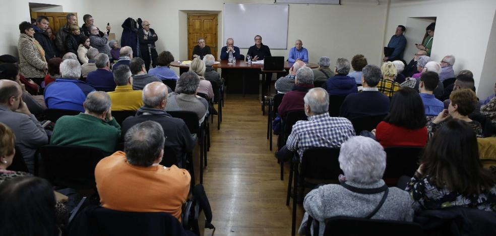 San Martín rechaza la supresión de la línea de Renfe de La Felguera a El Entrego