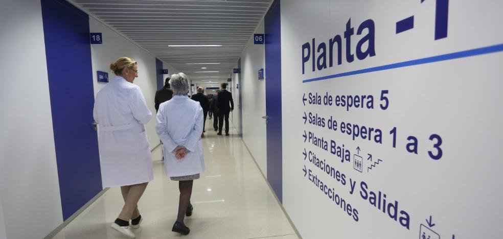 Las derivaciones del Sespa convierten a Jove en el hospital con mayor demora de Asturias