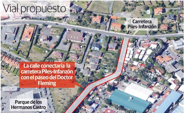 Propuesta de nuevo vial de acceso a la Fidma