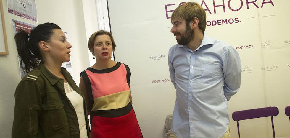 Daniel Ripa y Nuria Rodríguez compartirán la portavocía de Podemos Asturias