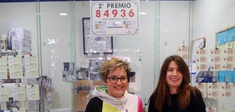 El segundo premio de la Lotería Nacional deja 120.000 euros en el centro comercial del Nalón