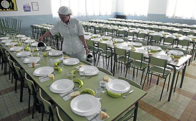 Los pliegos premiarán los platos con productos ecológicos