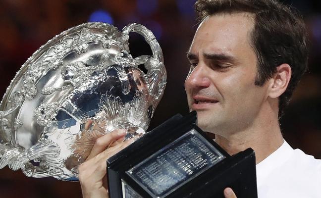 Veinte grandes para Roger Federer