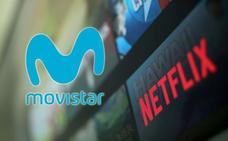 Las series de Netflix se podrán ver en Movistar