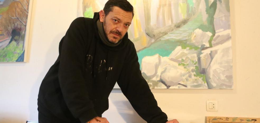 Nacho Valdés inaugura una exposición de óleos con los paisajes como protagonistas