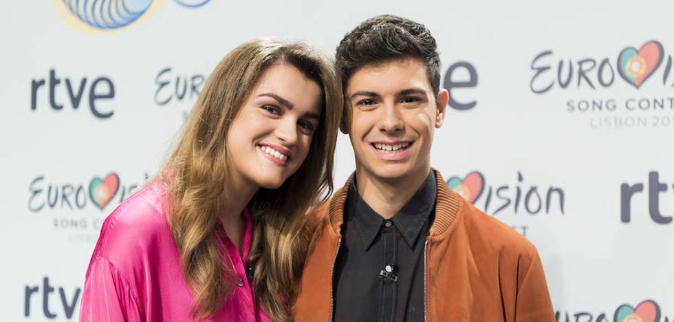Amaia y Alfred: «En Eurovisión puede pasar cualquier cosa»