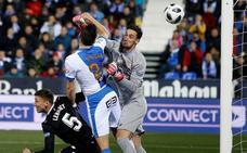 El Leganés resiste a un Sevilla notable