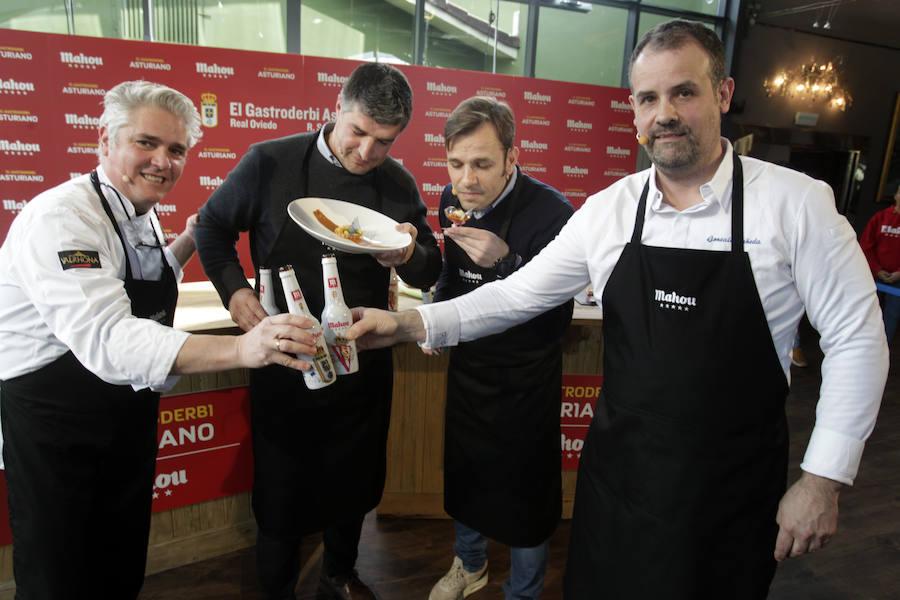 Oviedo y Sporting se ponen a prueba en la cocina