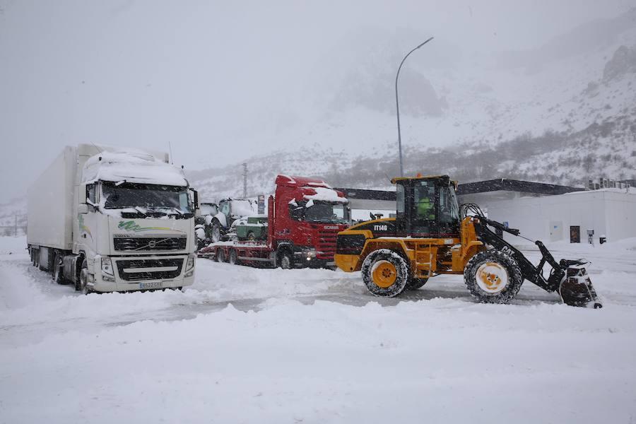 El temporal se recrudece en Asturias