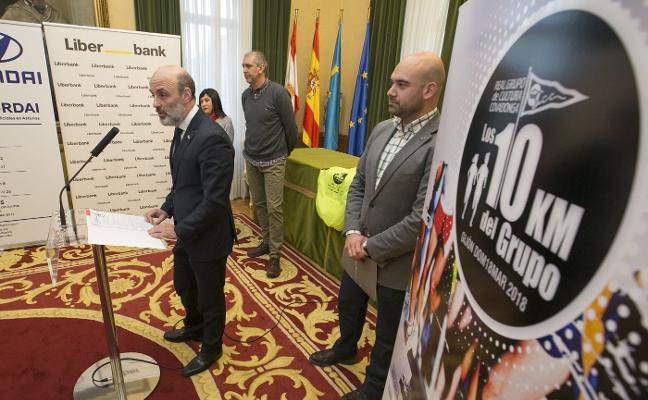 Los 10 Kilómetros del Grupo abrirán los actos vinculados al ochenta aniversario